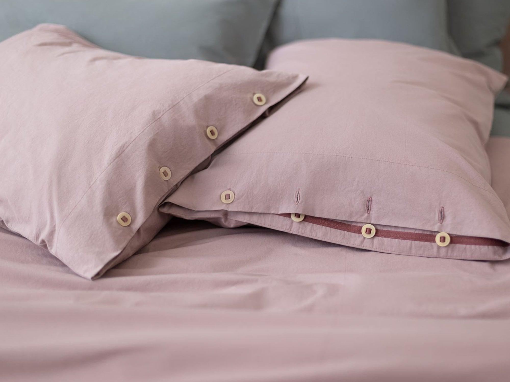 Linen pillow cover Bag Style Sleeping