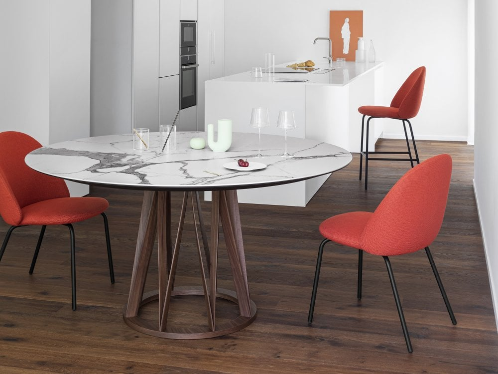 Miniforms Acco Round Dining Table, Round Dining Table Uk
