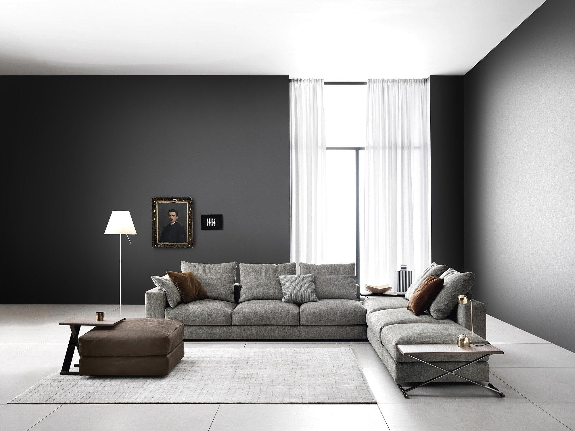Picture of: Ananta Class L Shaped Sofa Saba Italia