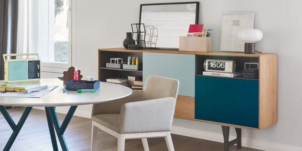 Kuri high-quality, practical sideboards for dining rooms.