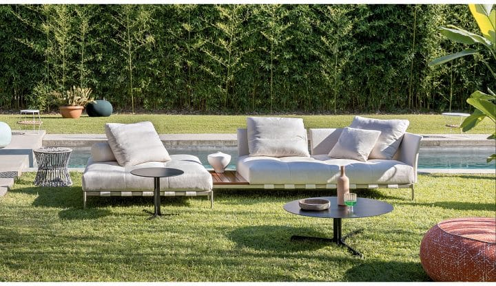 Outdoor seating made for lounging, dining and entertaining